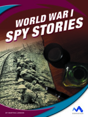 cover image of World War I Spy Stories