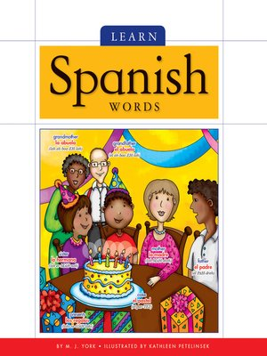 cover image of Learn Spanish Words