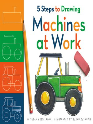 cover image of 5 Steps to Drawing Machines at Work