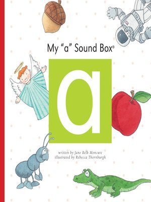 cover image of My 'a' Sound Box