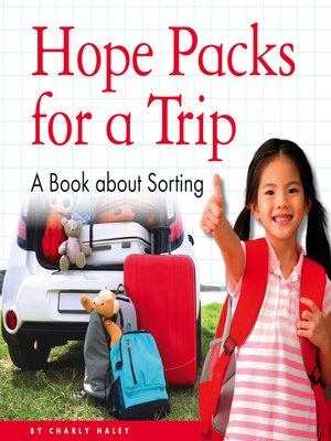 cover image of Hope Packs for a Trip