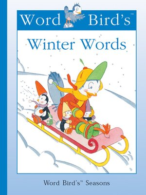 cover image of Word Bird's Winter Words