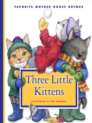 cover image of Three Little Kittens