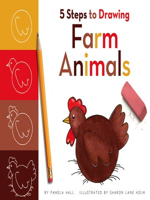 cover image of 5 Steps to Drawing Farm Animals