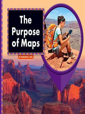cover image of The Purpose of Maps