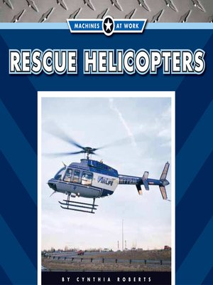 cover image of Rescue Helicopters