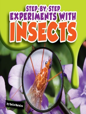 cover image of Step-by-Step Experiments with Insects