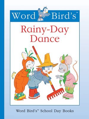 cover image of Word Bird's Rainy-Day Dance