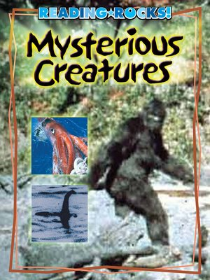 cover image of Mysterious Creatures
