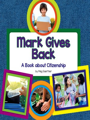 cover image of Mark Gives Back