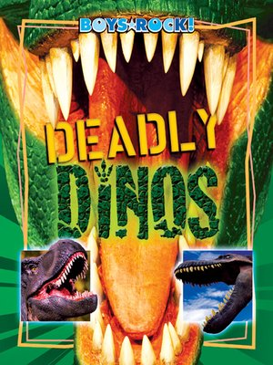 cover image of Deadly Dinos