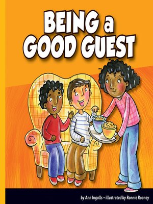 cover image of Being a Good Guest