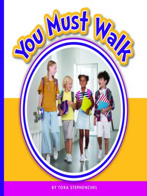 cover image of You Must Walk