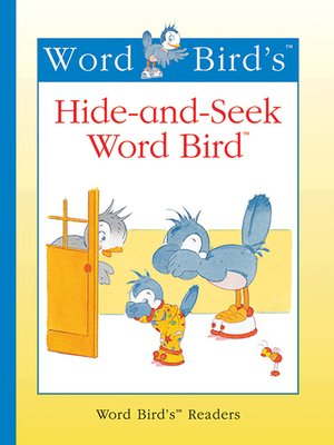cover image of Hide-and-Seek Word Bird