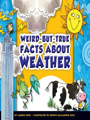 cover image of Weird-but-True Facts about Weather