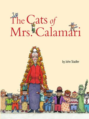 cover image of The Cats of Mrs. Calamari