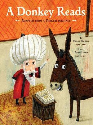 cover image of A Donkey Reads