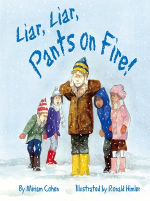 cover image of Liar, Liar, Pants on Fire!