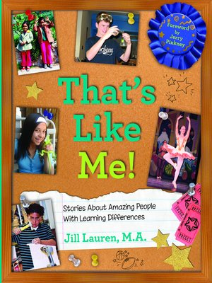 cover image of That's Like Me!