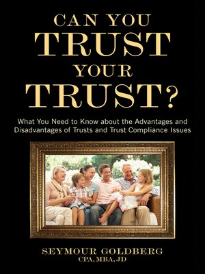 cover image of Can You Trust Your Trust?