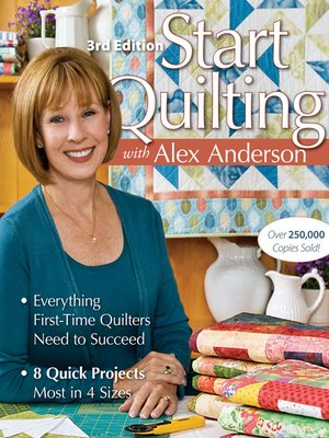 cover image of Start Quilting with Alex Anderson
