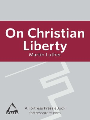 cover image of On Christian Liberty