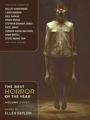 cover image of Best Horror of the Year