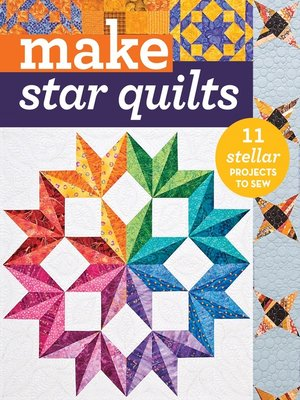 cover image of Make Star Quilts