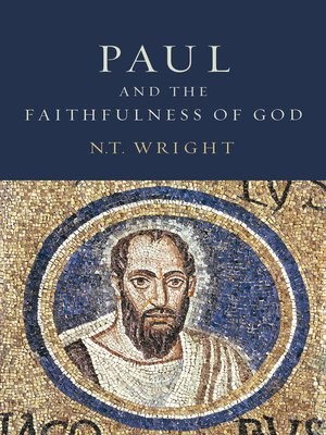 cover image of Paul and the Faithfulness of God