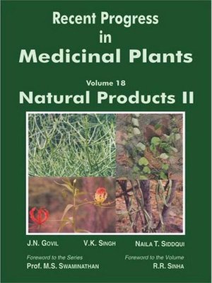 cover image of Recent Progress In Medicinal Plants (Natural Products-II)