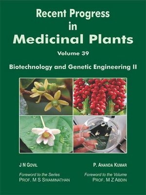 cover image of Recent Progress In Medicinal Plants  (Biotechnology and Genetic Engineering Part-II)