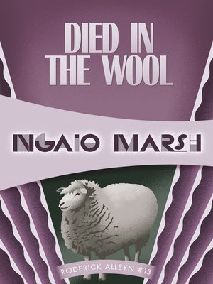 cover image of Died in the Wool