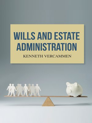 cover image of Wills and Estate Administration