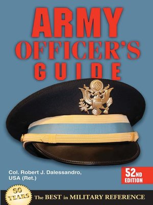 cover image of Army Officer's Guide