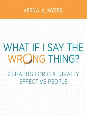 cover image of What if I Say the Wrong Thing?