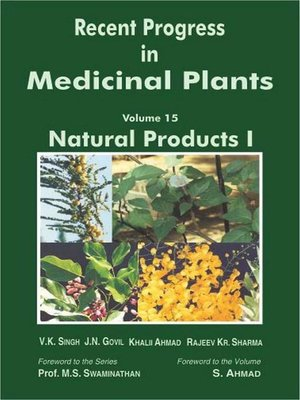 cover image of Recent Progress In Medicinal Plants (Natural Products)