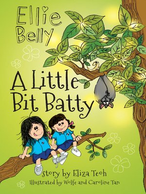 cover image of A Little Bit Batty