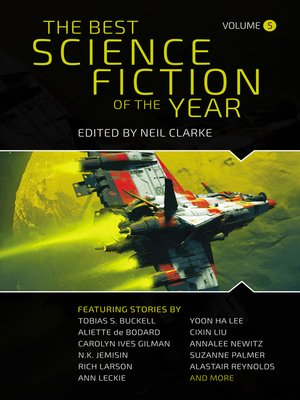 cover image of The Best Science Fiction of the Year Volume 5