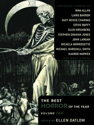 cover image of The Best Horror of the Year Volume 2