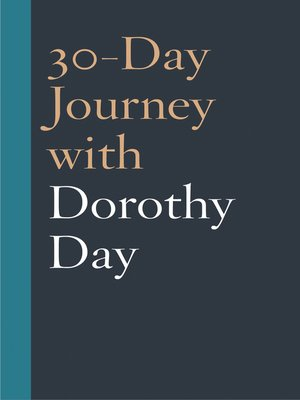 cover image of 30-Day Journey with Dorothy Day