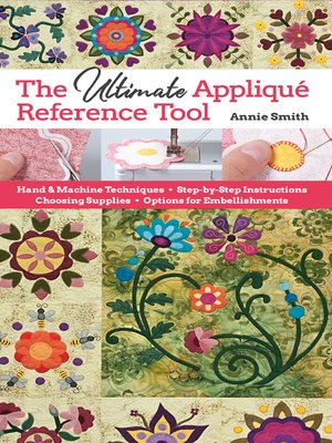 cover image of Ultimate Applique Reference Tool