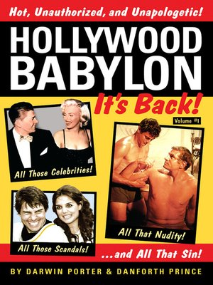 cover image of Hollywood Babylon— It's Back!