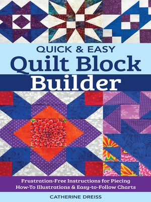 cover image of Quick & Easy Quilt Block Builder