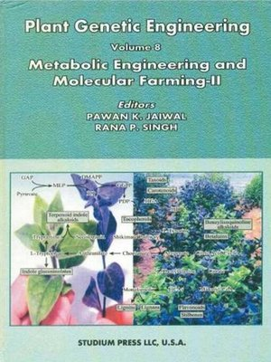cover image of Plant Genetic Engineering (Metabolic Engineering and Molecular Farming-II)