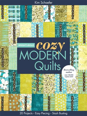 cover image of Bright & Bold Cozy Modern Quilts