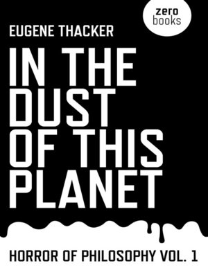 cover image of In the Dust of This Planet
