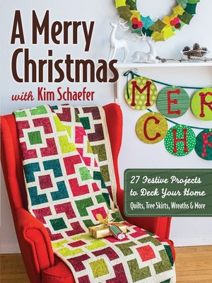 cover image of A Merry Christmas with Kim Schaefer