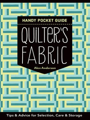 cover image of Quilter's Fabric Handy Pocket Guide