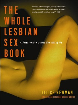 The whole lesbian sex book pdf