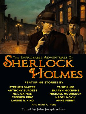 cover image of The Improbable Adventures of Sherlock Holmes